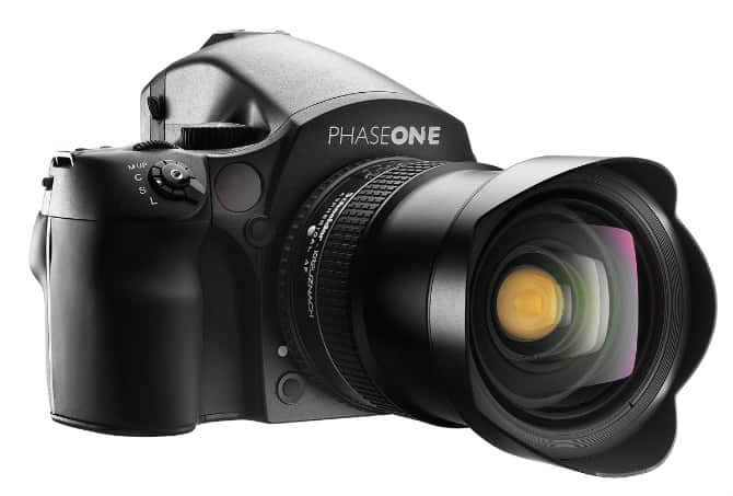 The Phase One P65 + Digital Back Medium Format with 645DF